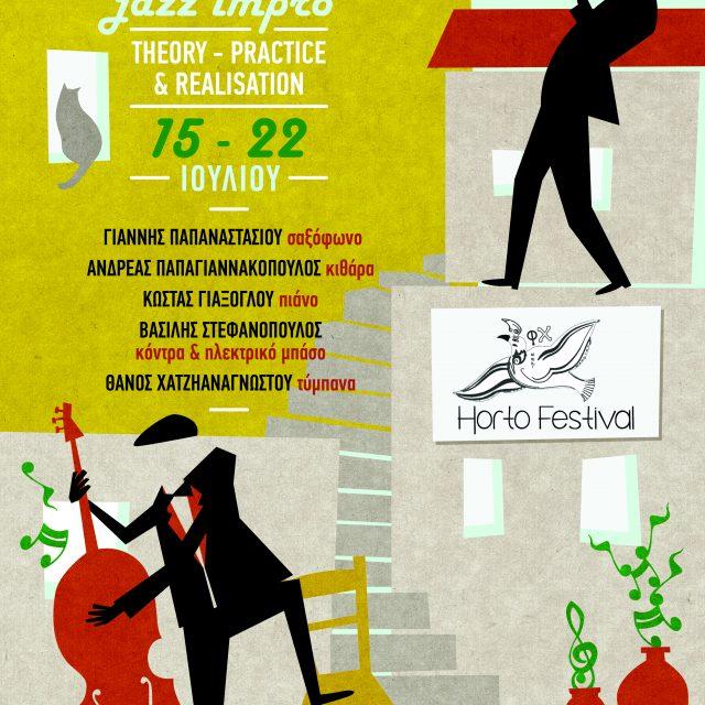 15-22/7 Horto jazz workshop 2017