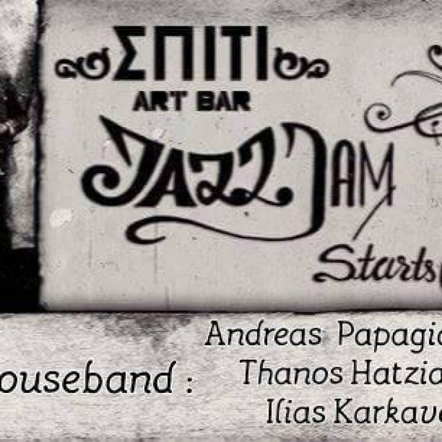 14/01/18 jam session @Σπιτι art bar