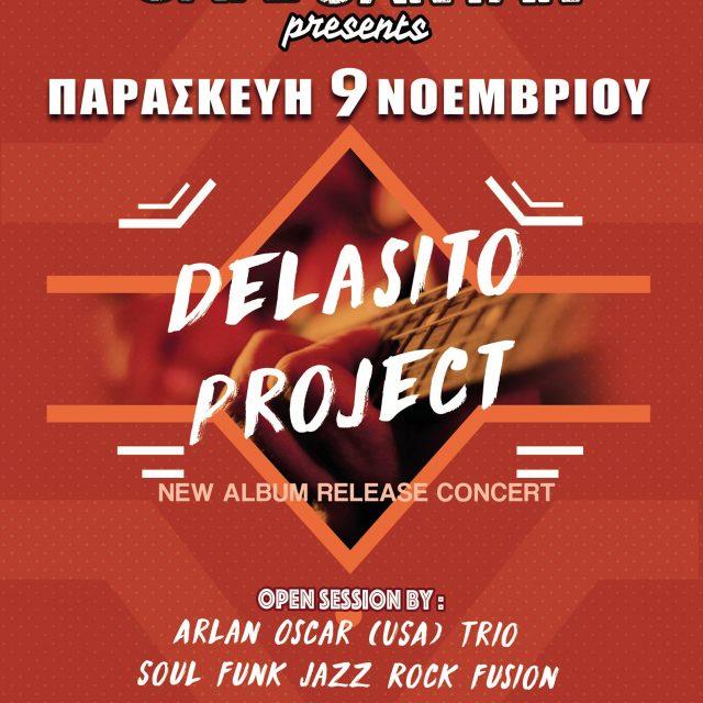 9.11.18 Delasito project @Cafe Santan