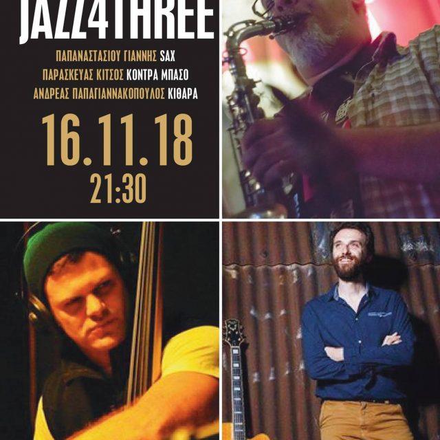 16.11.18 jazz for three@Chez Michel