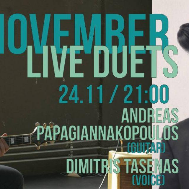 24.11.18 Αndreas & Dimitris jazz duet @Frogs guest house