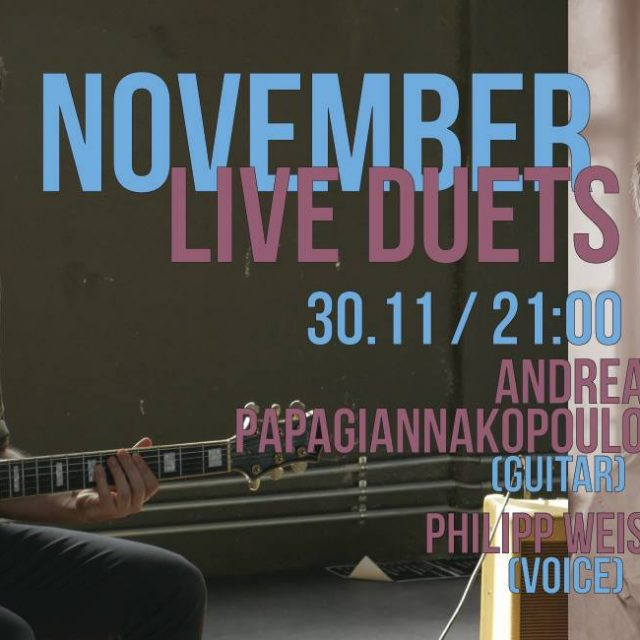 30.11.18 Andreas & Philipp jazz duet@Frogs guest house