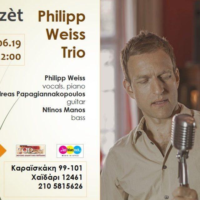1/6/19 Philipp Weiss trio